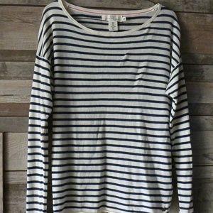 H&M! LOGG sweater striped blue/white long sleeve M